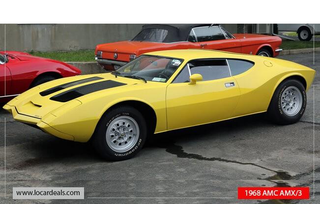 1968 AMC AMX3 Concept Muscle car