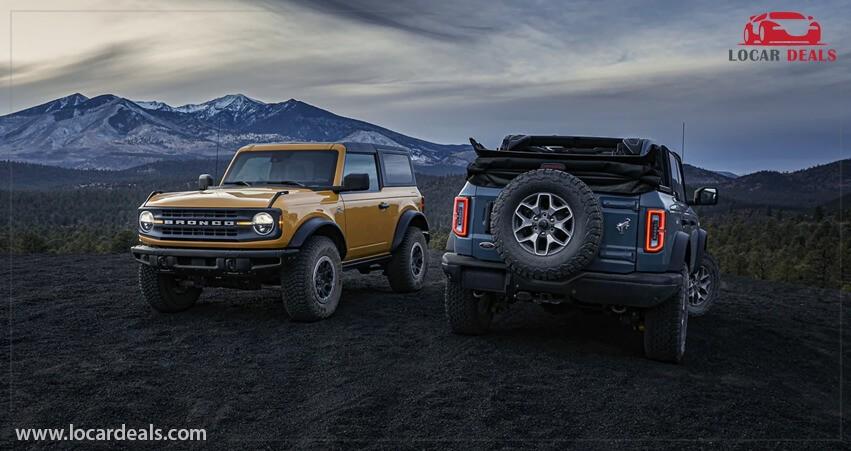 Ford Bronco 2-door off road