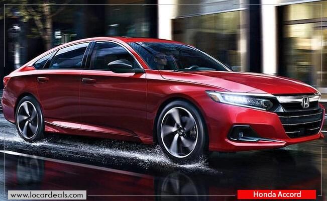 Honda Accord keyless start car