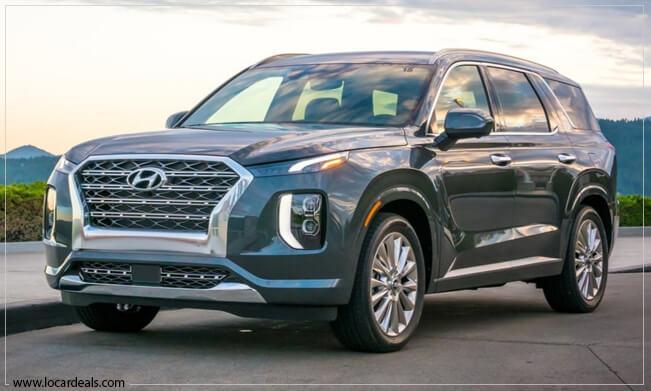 Hyundai Palisade Boxiest Car - Boxy Car in USA