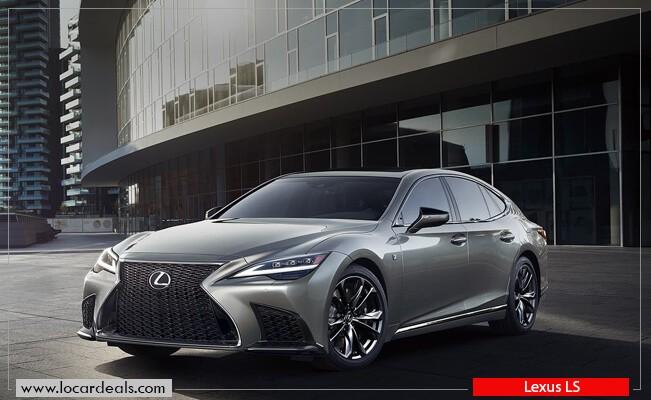 Lexus LS keyless entry Car