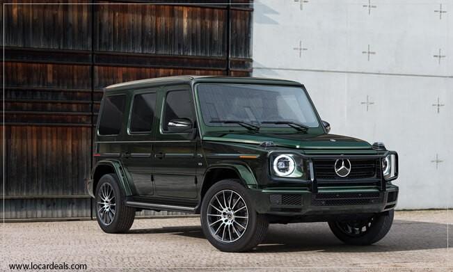 Mercedes-Benz G-Class Box shaped car