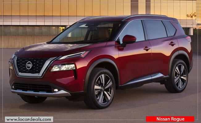 Nissan Rogue keyless start cars