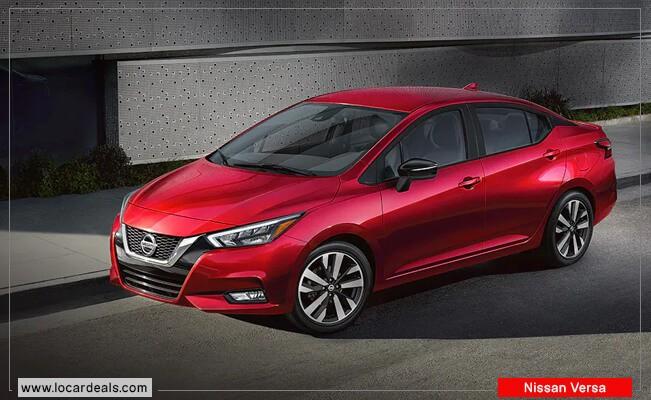 Nissan Versa Start stop Car