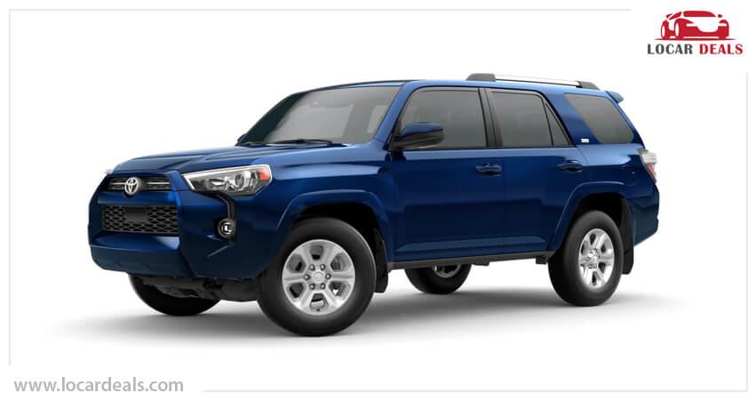 Toyota 4Runner off-road suv