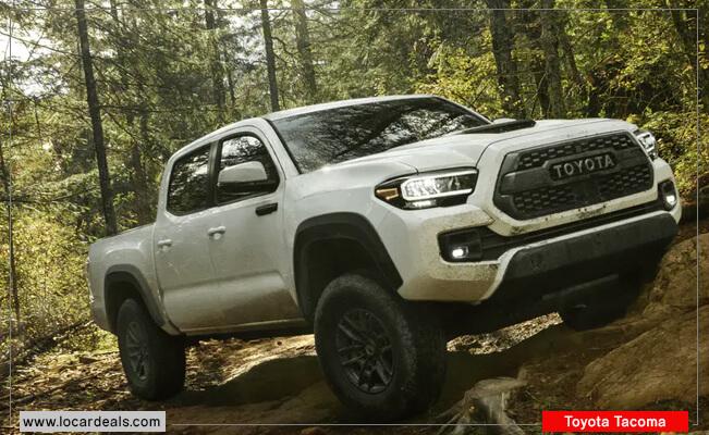 Toyota Tacoma keyless ignition cars