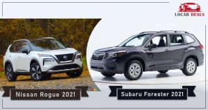 subaru forester vs nissan rogue specification and review