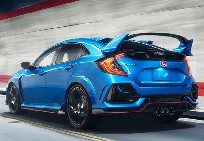 New Honda Civic Type R Exterior