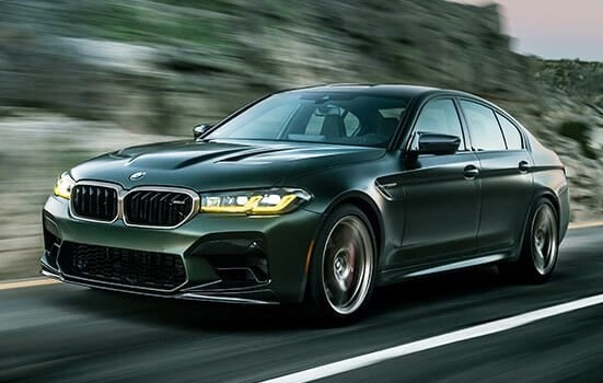 BMW M5 Competition fastest sedans car in the world