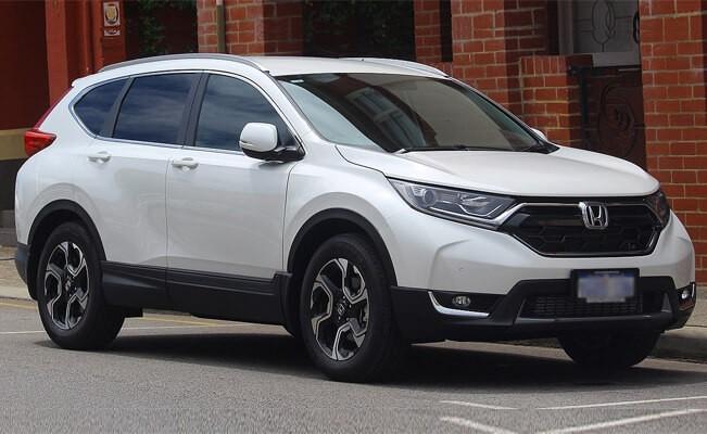 Honda CR-V - top cars for short people