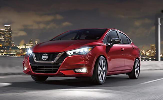 Nissan Versa - new cars under 12000 dollars
