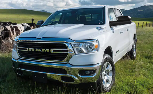 Ram 1500 - best cars for short people