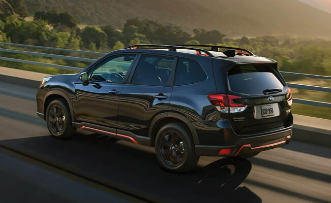Subaru Forester - good cars for short people