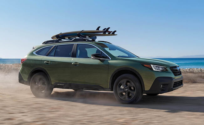 Subaru Outback - cars for short people